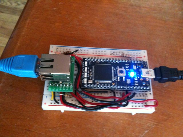 Pehr Hovey — Open Sound Control on mbed microcontroller